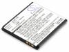 Аккумулятор для сотового телефона Sony Ericsson BA750