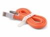 Кабель синхронизации USB - Apple 30-pin (оранжевый, 100 см)
